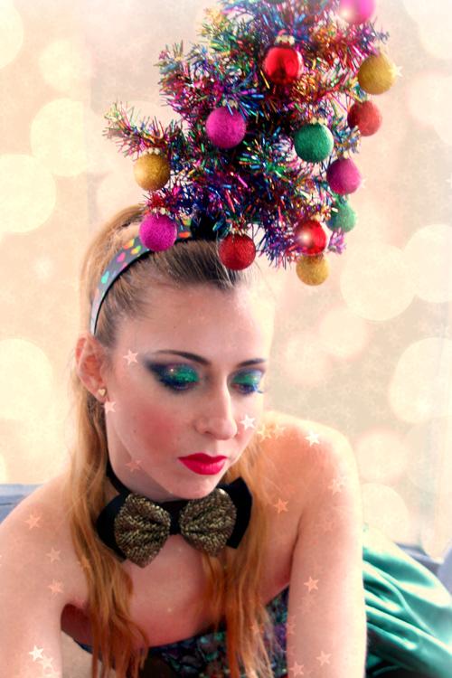 Christmas tree headpiece